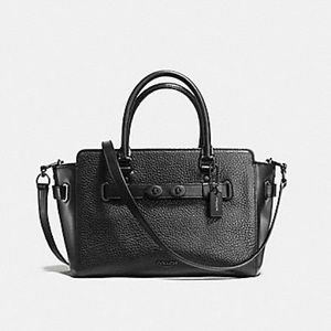 Coach F55665 Blake Carryall 25 in Matte Black